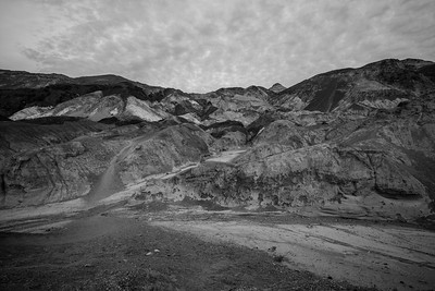 Artist's Palette. Artists Drive. Death Valley National Park, CA/NV