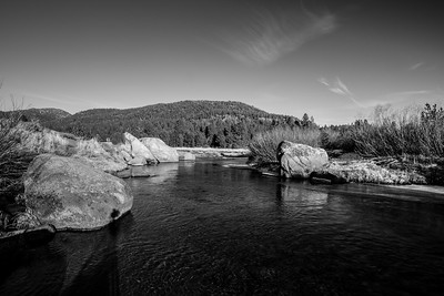 West Fork Carson River. Humboldt-Toiyabe National Forest, CA, USA
