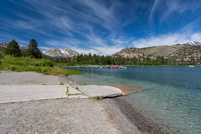 June Lake. Inyo National Forest, CA, USA