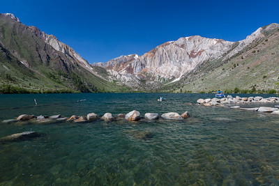 Convict Lake. Inyo National Forest, CA, USA