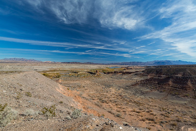Las Vegas Bay Marina Overlook. Nevada Side. Lake Mead National Recreation Area - NV, AZ