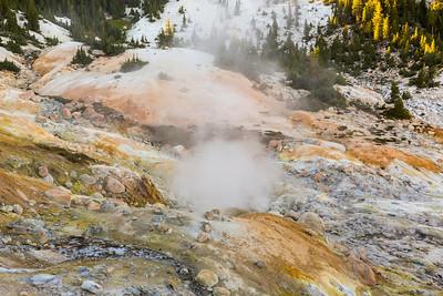 Bumpass Hell. Lassen Volcanic National Park - California, USA