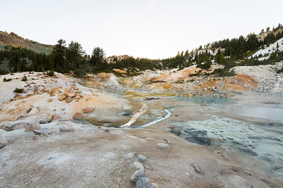 Bumpass Hell. Lassen Volcanic National Park - California, USA