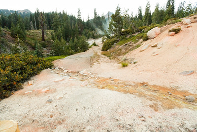 Sulphur Works. Lassen Volcanic National Park - California, USA