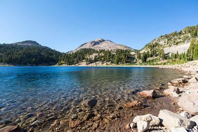 Lake Helen. Lassen Volcanic National Park - California, USA