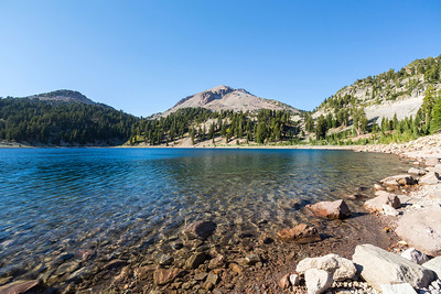 Lake Helen. Lassen Volcanic National Park - California, USA