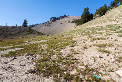 Lassen Peak. Lassen Volcanic National Park - California, USA