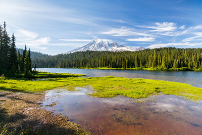 Reflection Lake. Mount Rainier National Park - Washington, USA