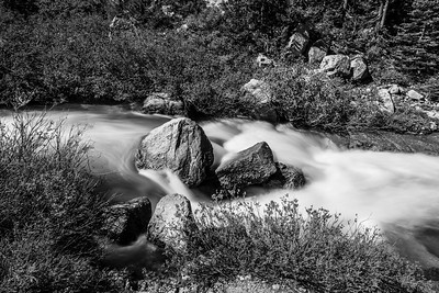Deadman Creek. Near SR-108. Stanislaus National Forest, CA, USA