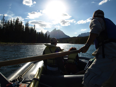 Floating Trip. Grand Teton National Park