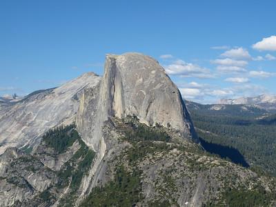 Half Dome. Glacier Point - Yosemite National Park