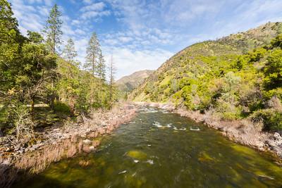 Merced River. Near SR-140 - Route to Yosemite National Park