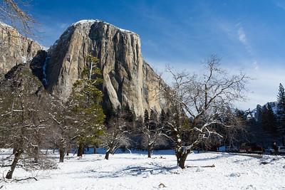 El Capitan. Southside Drive. Yosemite National Park, CA, USA