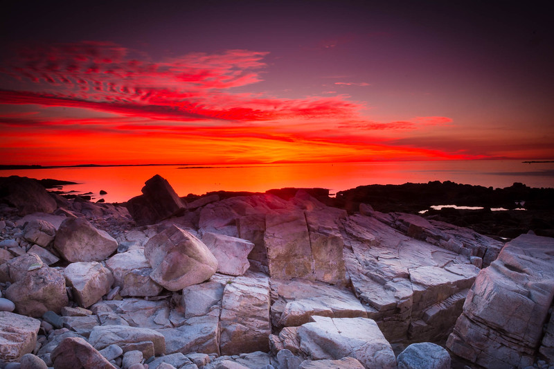 Sunset from Schoodic Point