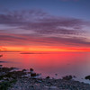 Sunset from Schoodic Peninsula