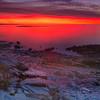 Sunset from Schoodic Peninsul
