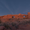 Sunset, Windows, Arches National Park, Utah