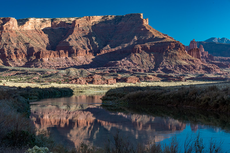 Along the Colorado River near Fisher Towers, Utah