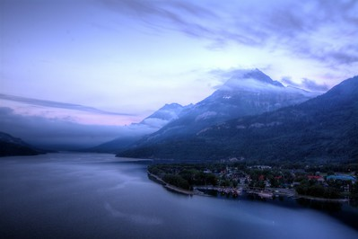 99 - Waterton Lake at Dawn