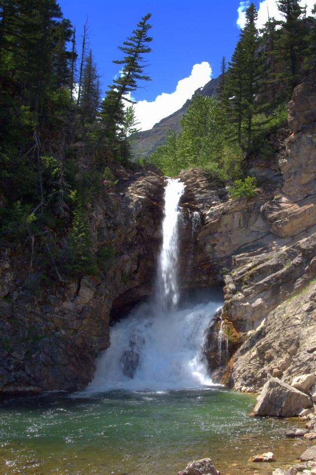 Running Eagle Falls, Two Medicine Lake, East Glacier Park
