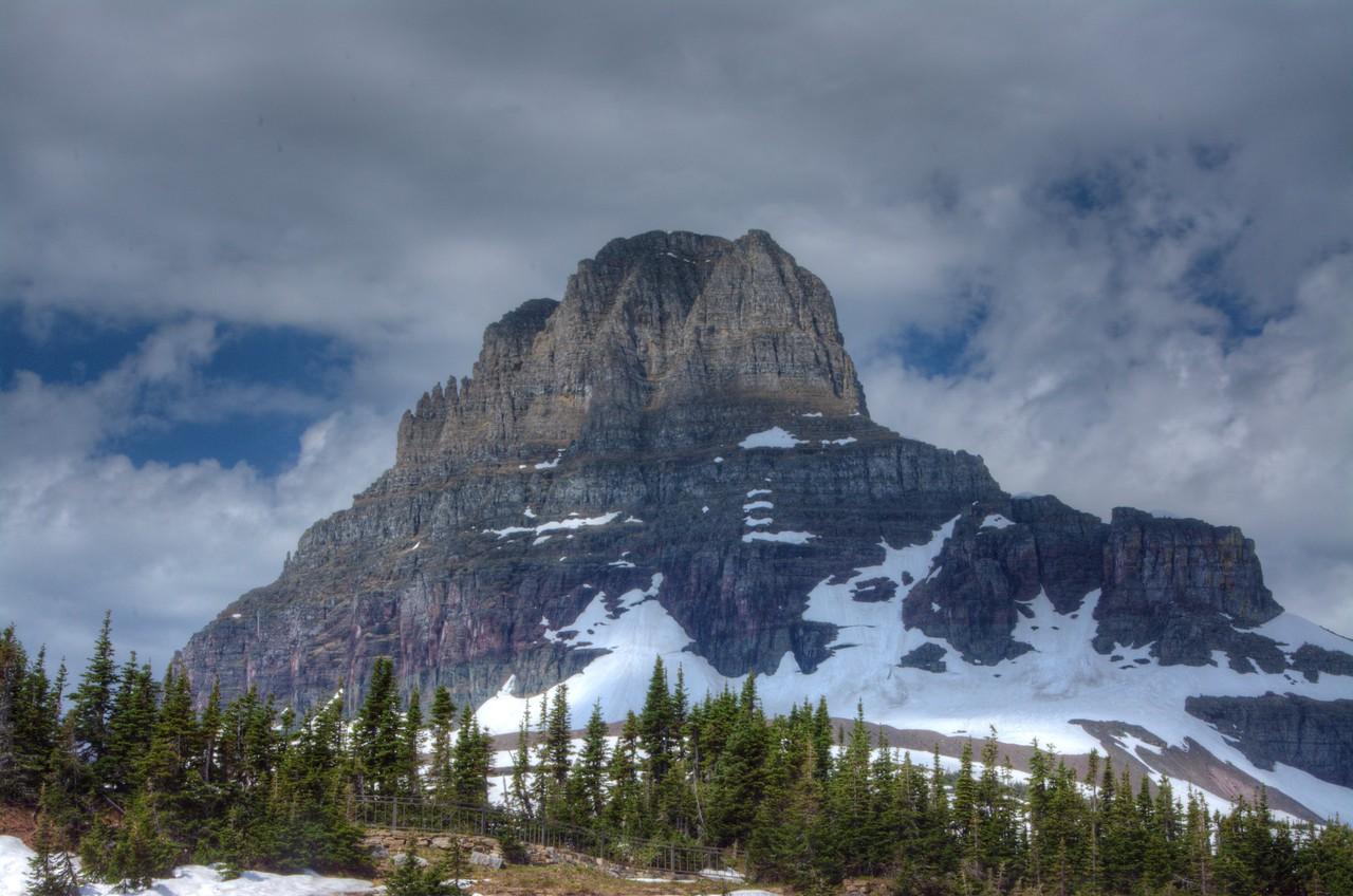 59 - Mount Reynolds at Logan Pass