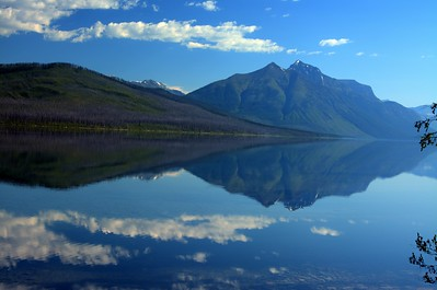 9a - Mountain Refection at Lake McDonald