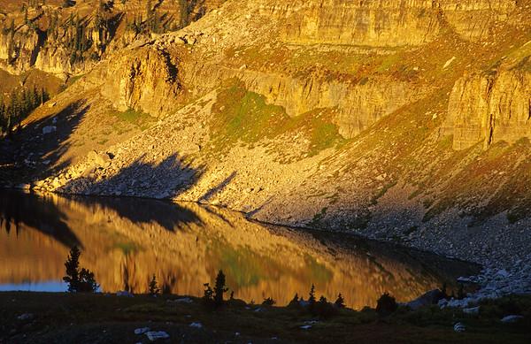Marion Lake Sunrise Reflection