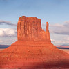 Left Mitten, Monument Valley, Utah