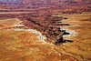 Canyonlands National Park-Maze of interlocked canyons from Grand view point, Island in the sky