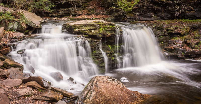 Cayuga Falls, Ricketts Glen, PA