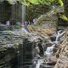 Rainbow Falls, Watkins Glen State Park (NY)