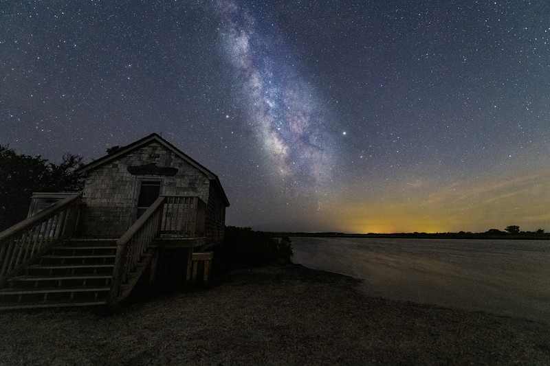 Milky Way over Assateague Island