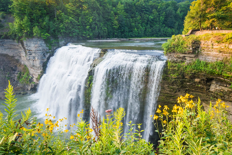 Middle Falls, Letchworth State Park (NYS)