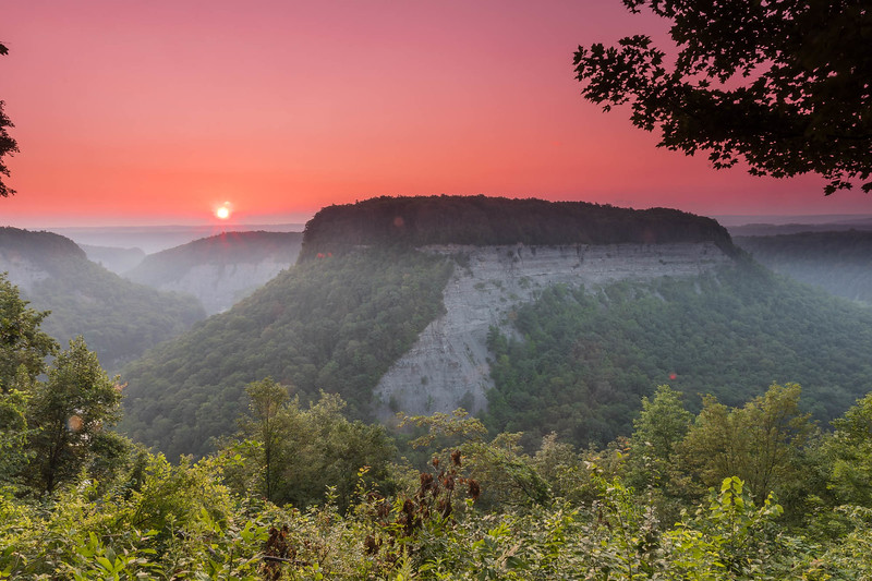 Sunrise at Letchworth State Park (NYS)