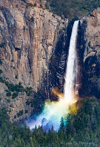 Rainbow Over Bridalveil Falls