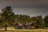 Abandon cabin outside Hulett Wyoming