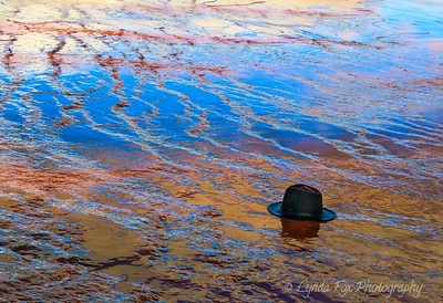 Lost Hat in Sulphur Pool