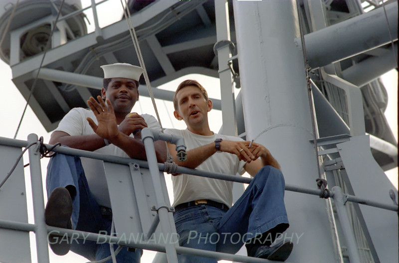 RD1 Greer and RD1 Ellington of USS MacDonough.  Anyone know where these guys are now?