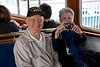 Ted and Ann Parker on the Admiral Pete tour of the Bremerton Shipyard.