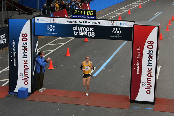 Dathan Ritzenhein takes second place