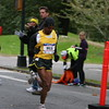 Meb Keflezighi trying to hold fourth place