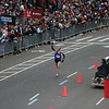 Ryan Hall approaches the finish of the 2008 Men's Marathon Trials