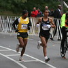 Meb and Khalid appear to try to work together to target fourth place
