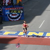 Finish Line: Lewy-Boulet finishes the race of her life in second place.