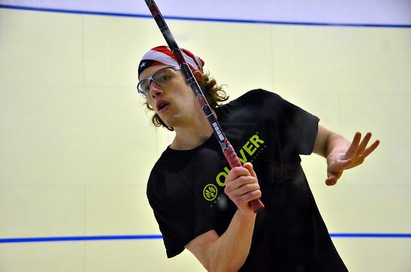 Men's Round 1 Azan v Thompson