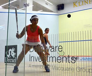 Women's Round 1 Ibrahim v Van Der Heijden