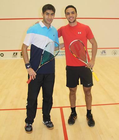 Men's Round 2 Tandon v Abouelghar