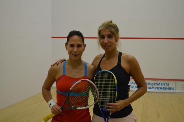 Women's Round 1 Teran v Khan