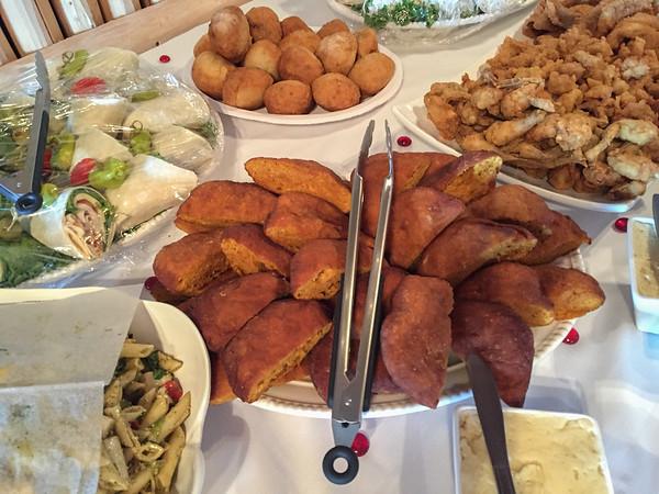 Seminole frybread at the Swamp Water Cafe, Billie Swamp Safari, Florida