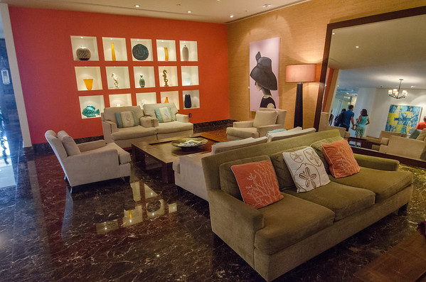 Lobby of the Atlantic Hotel & Spa, Fort Lauderdale, Florida